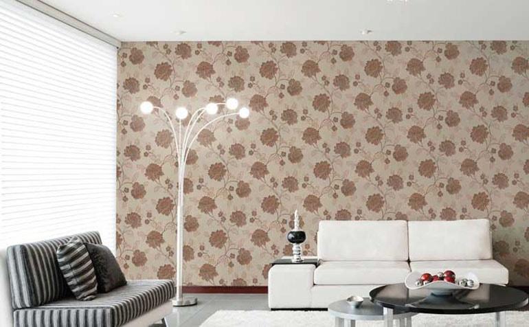 Tapet floral living