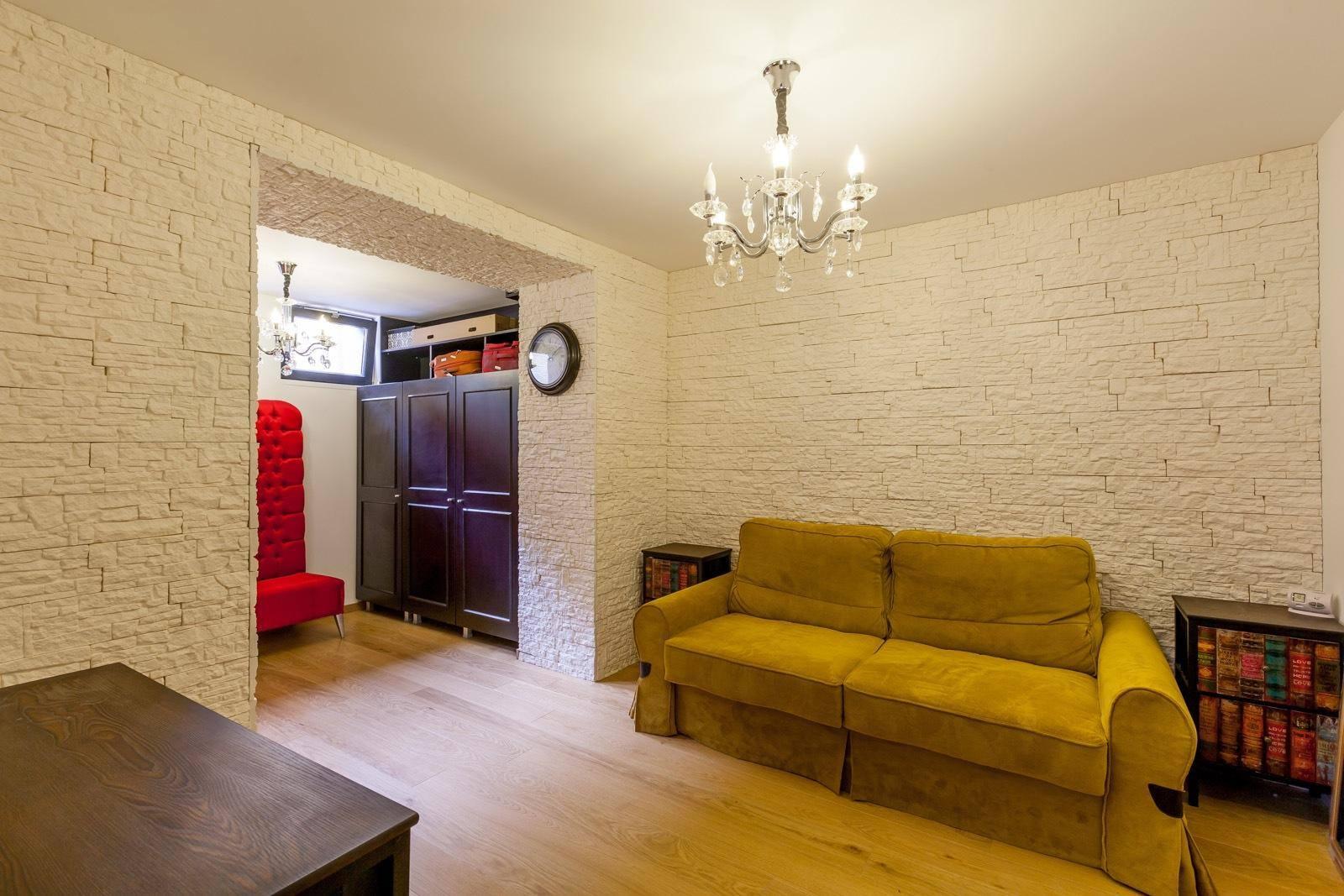 Camera din cadrul proiectului Dorobanti Villa realizat de Lemon Design
