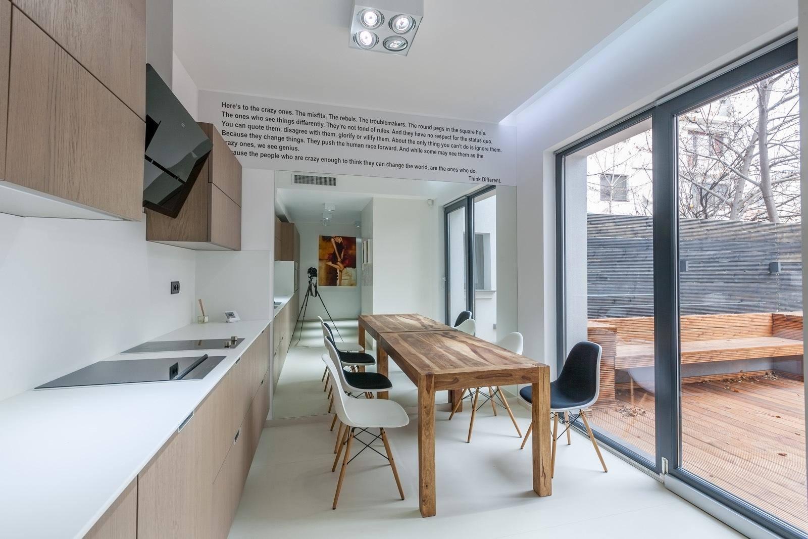 Bucatarie din cadrul proiectului Dorobanti Villa realizat de Lemon Design