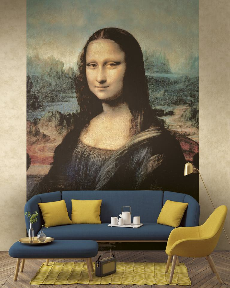 Tapet model Gioconda (Monalisa)
