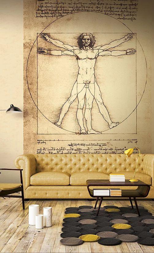 axelen-tapet-living-vitruvius-leonardo-da-vinci-23091